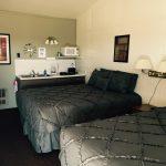 duel bed bedroom